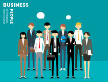 Hombre de negocios People libre illustration