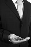 Hombre de negocios pobre Imágenes de archivo libres de regalías