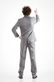 Hombre de negocios Pointing Fotos de archivo libres de regalías