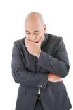 Hombre de negocios preocupante pensativo Imagen de archivo