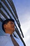 Hombre de negocios que anticipa Fotos de archivo