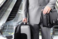 Hombre de negocios que viaja Fotografía de archivo libre de regalías