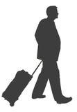 Hombre de negocios que viaja Imagen de archivo
