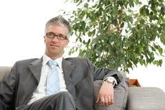 Hombre de negocios Relaxed imagenes de archivo