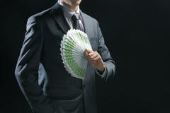 Hombre de negocios rico Fotografía de archivo libre de regalías
