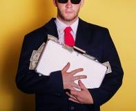 Hombre de negocios rico Imágenes de archivo libres de regalías