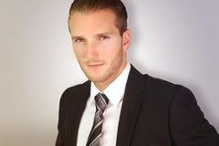 Hombre de negocios rubio joven Imagen de archivo libre de regalías