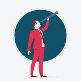 Hombre de negocios Searching Imagen de archivo