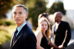 Hombre de negocios serio Imagen de archivo libre de regalías