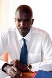 Hombre de negocios serio Foto de archivo libre de regalías