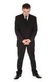 Hombre de negocios serio, integral Foto de archivo