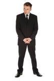 Hombre de negocios serio, integral Fotos de archivo libres de regalías