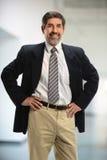Hombre de negocios Smiling Foto de archivo