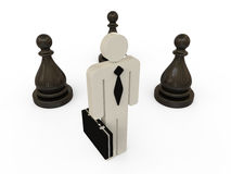 Hombre de negocios Strategy Concept Imagenes de archivo