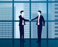 Hombre de negocios Success Agreement Concept Foto de archivo libre de regalías