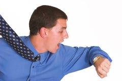Hombre de negocios tarde 2 Imagen de archivo libre de regalías