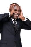 Hombre de negocios tensionado Fotos de archivo libres de regalías