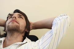 Hombre de negocios Thinking Foto de archivo