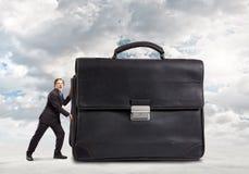 Hombre de negocios trabajador Imagenes de archivo
