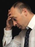 Hombre de negocios triste imágenes de archivo libres de regalías
