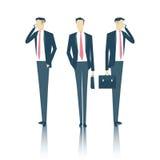 Hombre de negocios Vector Illustration Imagen de archivo libre de regalías