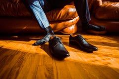 Hombre de negocios vestido para el trabajo Fotografía de archivo