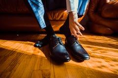 Hombre de negocios vestido para el trabajo Fotos de archivo libres de regalías