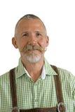 Hombre de Octoberfest con el bigote fotos de archivo