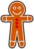 Hombre de pan de jengibre Imagen de archivo libre de regalías
