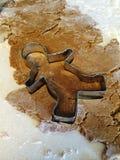 Hombre de pan de jengibre Fotografía de archivo