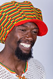 Hombre de Rasta Imagen de archivo libre de regalías