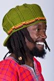 Hombre de Rasta Foto de archivo libre de regalías