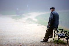 Hombre de reclinación Fotos de archivo libres de regalías