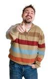 Hombre de risa Foto de archivo