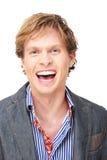 Hombre de risa Imagen de archivo libre de regalías