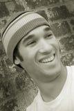 Hombre de risa Fotografía de archivo libre de regalías