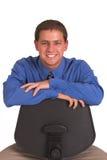 Hombre de risa Imagen de archivo