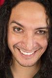 Hombre de risa del nativo americano Imágenes de archivo libres de regalías