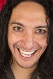 Hombre de risa histérico Fotos de archivo libres de regalías