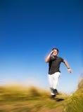 Hombre de Runing imagen de archivo libre de regalías