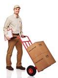 Hombre de salida cómodo Foto de archivo libre de regalías
