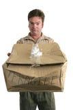 Hombre de salida culpable Imágenes de archivo libres de regalías