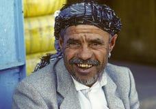 Hombre de Sanaa Fotografía de archivo