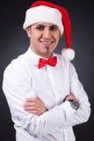 Hombre de Santa Fotos de archivo libres de regalías