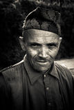 Hombre de Sindhupalchowk, Nepal Foto de archivo