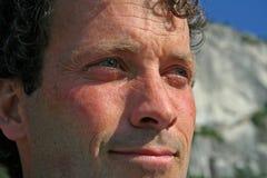 Hombre de Squamish Imagen de archivo libre de regalías