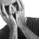 Hombre Dejected Fotos de archivo