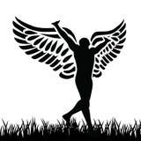 Hombre del ángel libre illustration