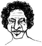 Hombre del Afro Imagen de archivo libre de regalías