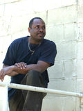 Hombre del afroamericano Fotografía de archivo